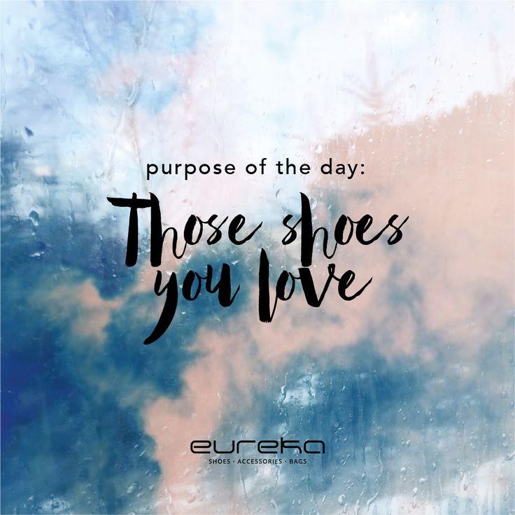 Pequenas paixões, grandes momentos com Eureka Shoes! #eurekashoes #eurekallovers #inspiration