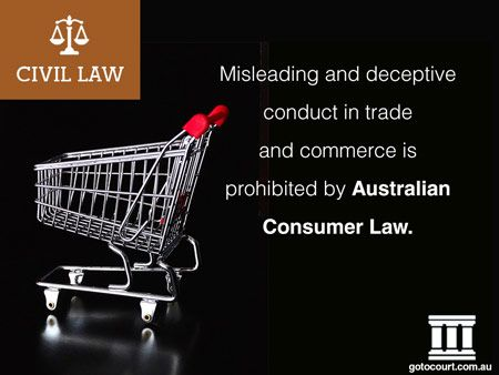 Consumer claims in Victoria are dealt with under the Australian Consumer Law and Fair Trading Act 2012. This legislation adopts in Victoria the federal scheme set out in Schedule 2 of the Competition and Consumer Act 2010 (Cth).  Read more: Consumer Claims in Victoria | Civil Lawyers VIC, Link: https://www.gotocourt.com.au/civil-law/vic/consumer-claims/