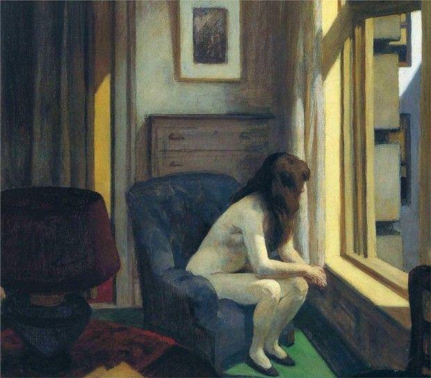Edward Hopper, 11 AM, 1926, Hirshhorn Museum and Sculpture Garden, Smithsonian Institution, Washington, D.C