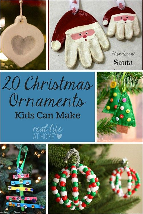 20 Christmas Ornament Crafts For Kids And Families Christmas