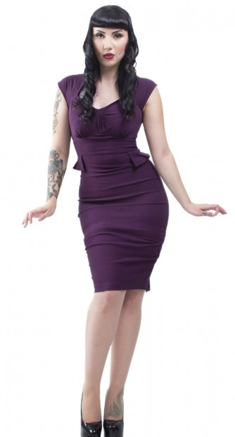 Lockheart Dress - Dresses - Womens | Blame Betty