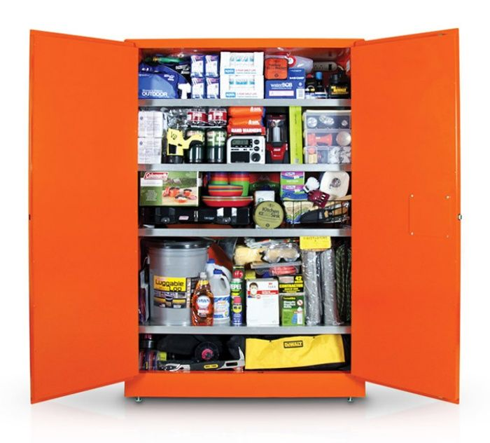 This is a $14,000 Zombie Apocalypse Cabinet - includes list of contents PDF