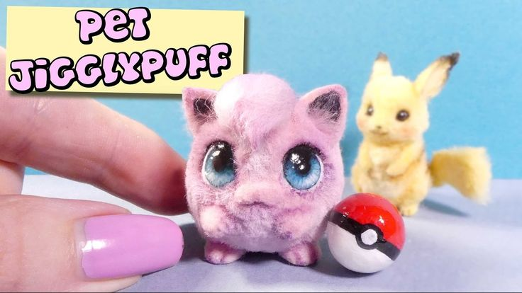 How To Mini Jigglypuff Tutorial // DIY Miniature Pokemon