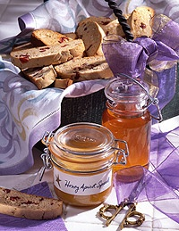 honey almond biscotti | Baby Shower | Pinterest
