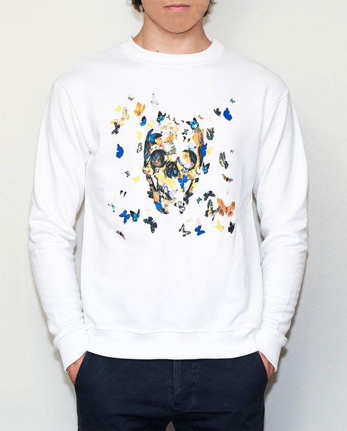 Skull sweatshirt for men - buy it at http://hotasice.com/shop
