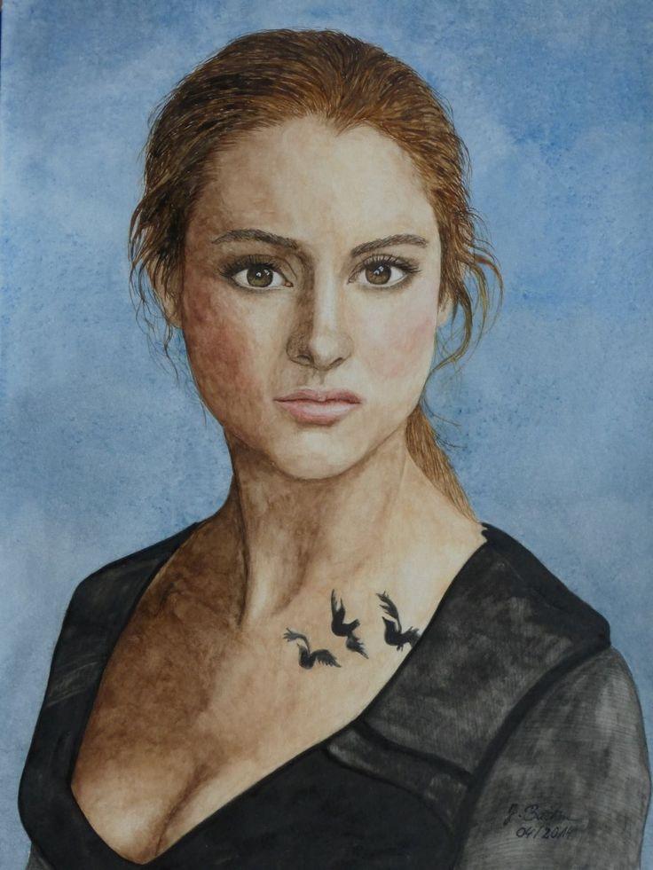 Beatrice (Tris) Prior gespielt von Shailene Woodley im Film Die Bestimmung - Divergent - Jutta Bachmann