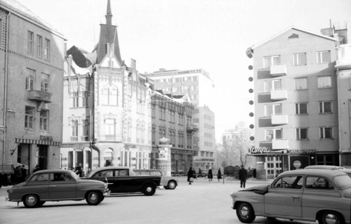 Oulu, 1959. Pohjois-Pohjanmaan museo, Uuno Laukan kokoelma.