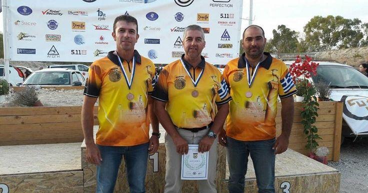 Το χάλκινο μετάλλιο πήρε το Σωματείο Πρακτικής Σκοποβολής Αστυνομικών Ρόδου στο Πανελλήνιο Πρωτάθλημα