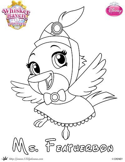Disneys Princess Palace Pets Free Coloring Pages And Printables Disney Junior