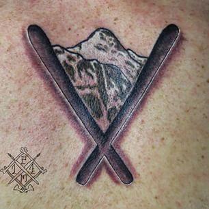 best ski tattoo - Google Search