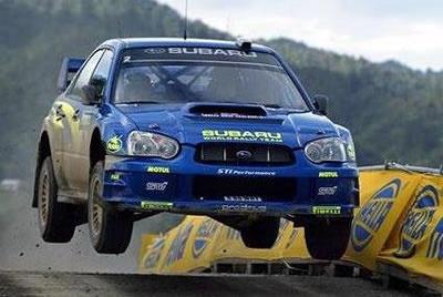 Ekstremalna jazda Subaru na odcinku specjalnym