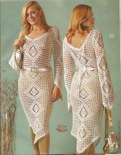 Вязаные платья -  отличный выбор для лета