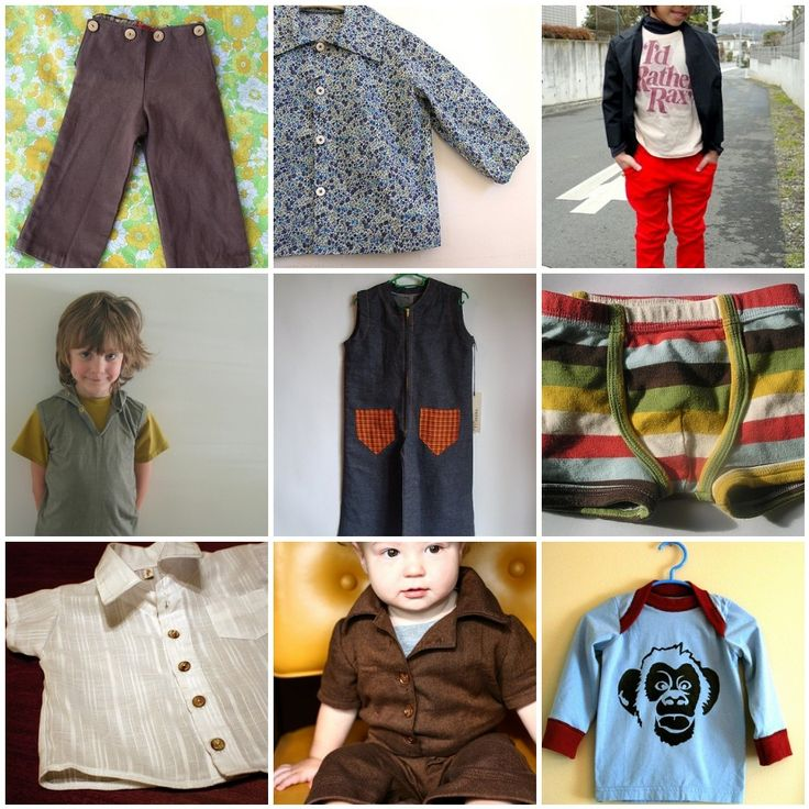 boys clothes tutorials- prob. have these in here individually already, but it's nice to have a round up...