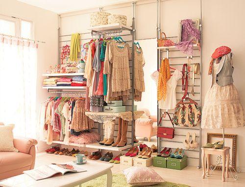 poderia ser seu closet, ou mesmo, seu ateliê