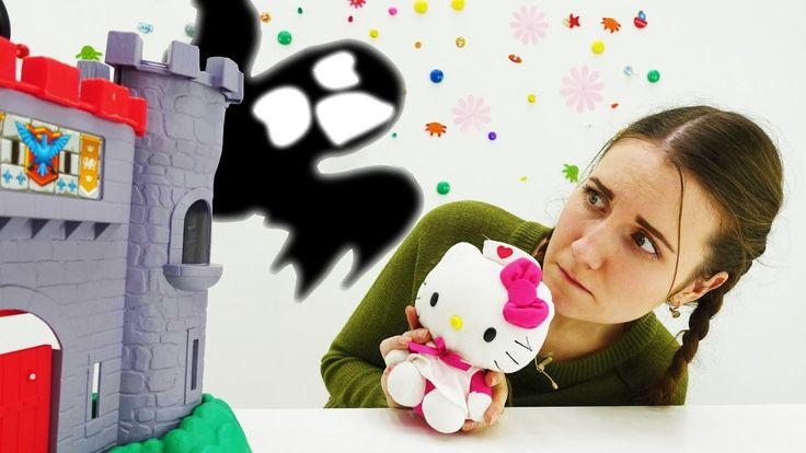 Видео про игрушки для девочек: Хелло Китти. Академия Волшебства: Олеся и...