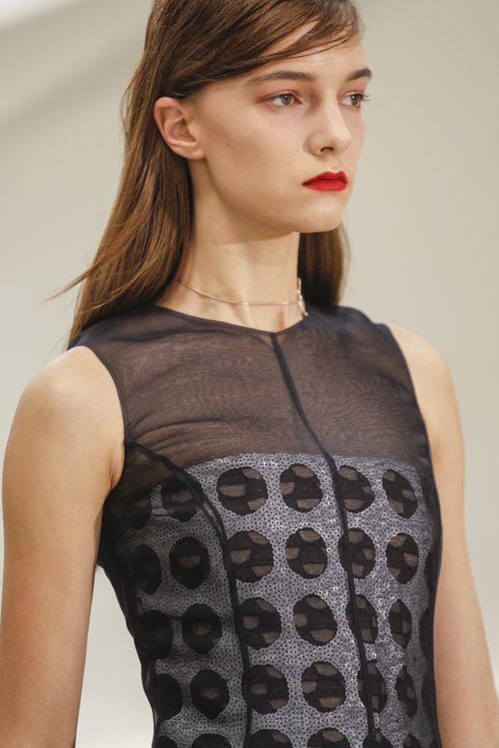 Les détails du défilé Christian Dior haute couture printemps-été 2014|94