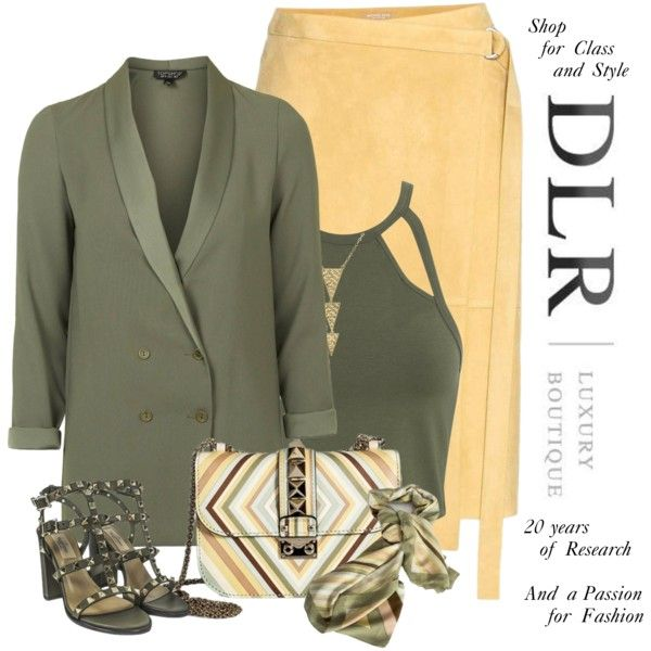 DLR Boutique Contest #dlrboutique @dlrluxuryboutique and ''Take advantage of the coupon code Promo10 to get a 10% discount on all products on DLR website by lorrainekeenan on Polyvore featuring мода, Miss Selfridge, Topshop and Valentino