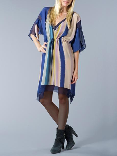 Babakul - Aurora Stripe Printed Dress.
