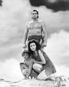 Watching Tarzan movies... Saturdays afternoons.:)