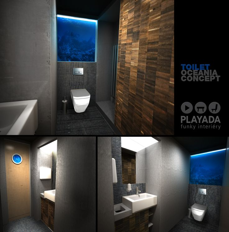 Office house reconstruction / bathroom