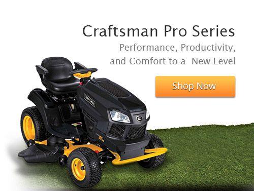 Sears Craftsman Pro Series Tractors : Best john deere lawn garden equipment images on