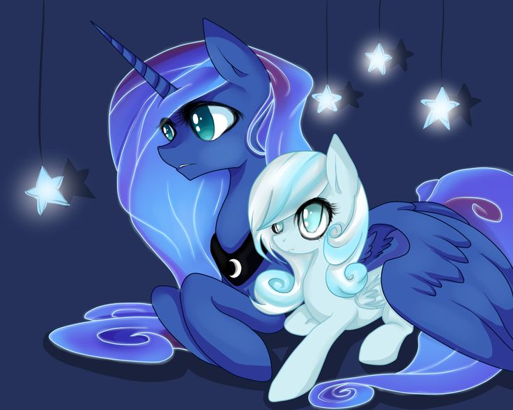Luna+and+Snowdrop+by+Santagiera.deviantart.com+on+@deviantART