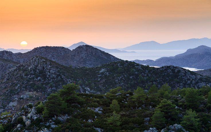Sunset in Söğüt, Bozburun Peninsula #Turkey #Sogut #Bozburun #travel