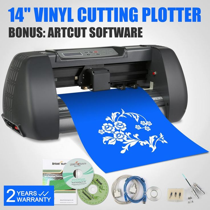 new 14 vinyl cutter cutting plotter machine portable aircut software vevor - Best Vinyl Cutter