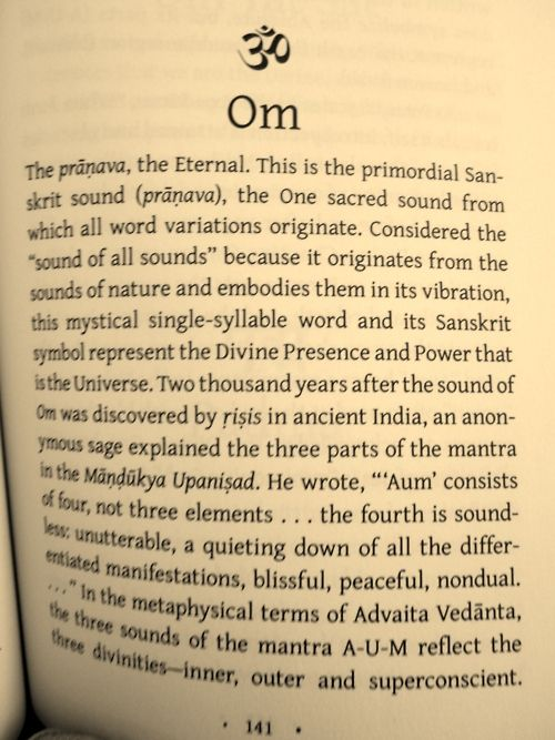 """Previous Pinner said: Huh... So there is an actual meaning behind """"Om"""". I learn something new everyday! Ommmmmm....."""