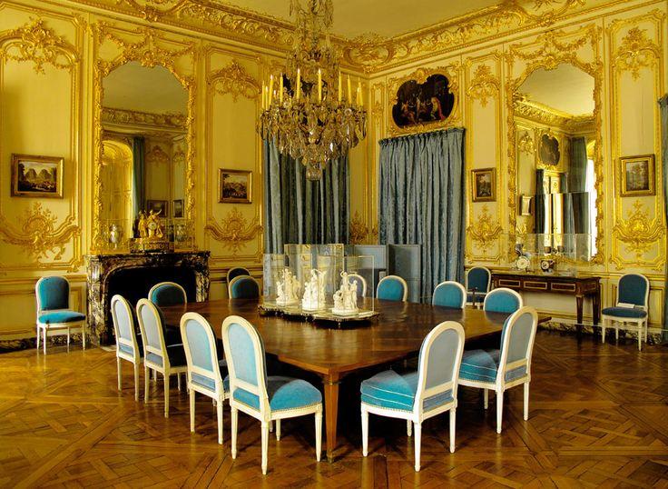 Appartement de Louis XVI au Château de Versailles, la Salle à manger.