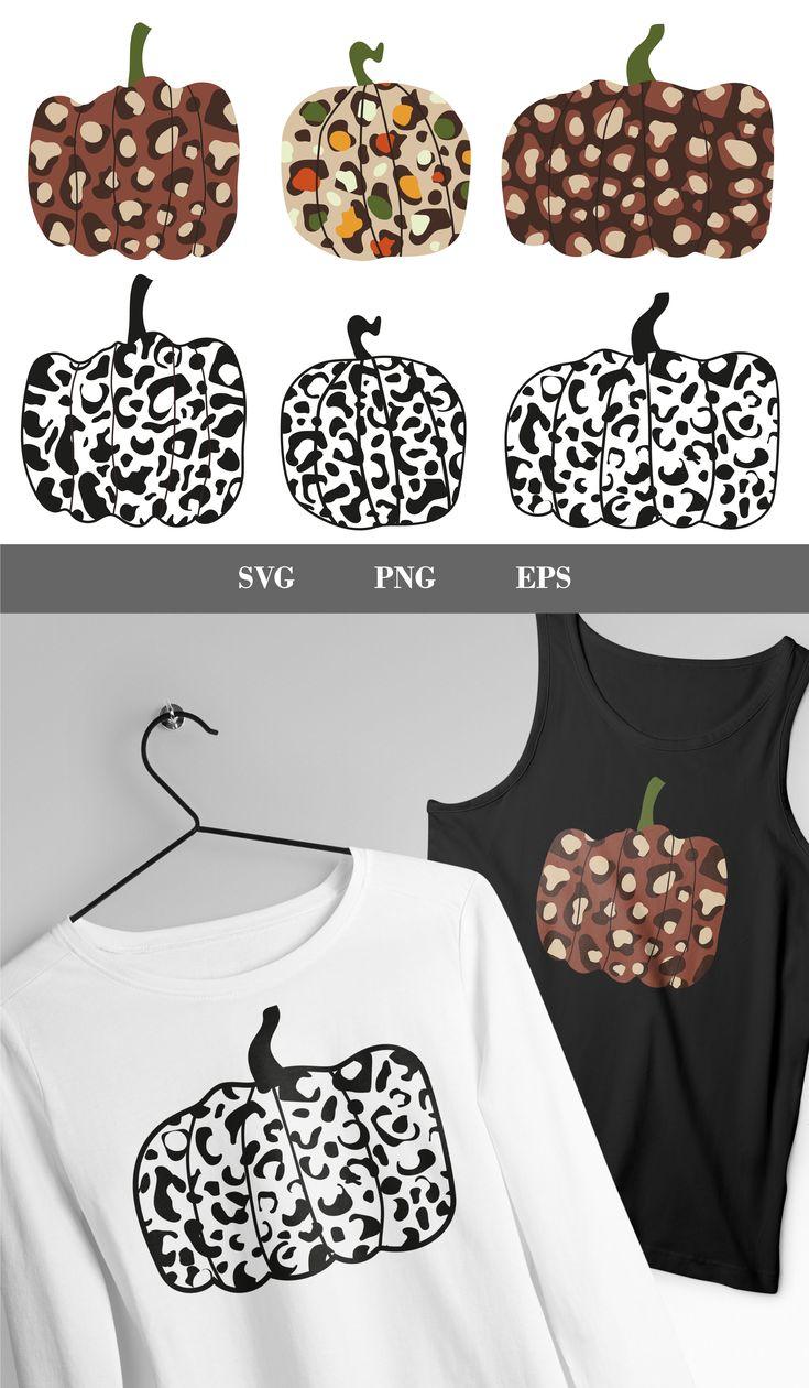 Leopard pumpkin SVG pumpkin SVG bundle autumn svg cheetah