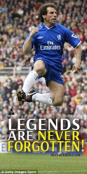 Gianfranco Zola #legend