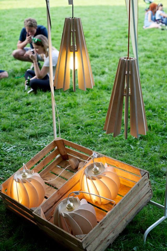 open air  exhibition design in Warsaw, seanlamps <3