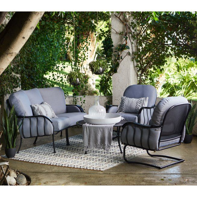 Magnificent Belham Living Magnolia Park Steel Outdoor Deep Seating Camellatalisay Diy Chair Ideas Camellatalisaycom