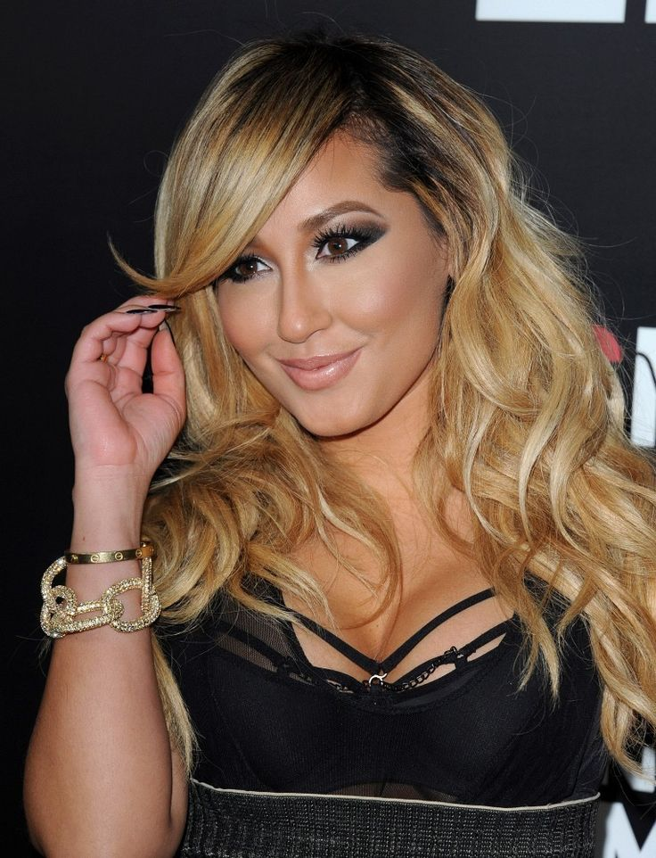 hair style updos adrienne bailon photos photos roc nation pre grammy 5987