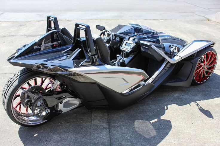 Polaris SlingshotResemblesA TransformerFeaturing22InchesWheels ThisPolaris Slingshotfeatures22″ dual-tone Forgiato wheelsand it looks pretty amazing as we can see, especially when cruising on the roads. The model of the wheels isSincro-ECLand it comes in various shades and sizes:20″ to 22″, 24″ and 26″.This means that...