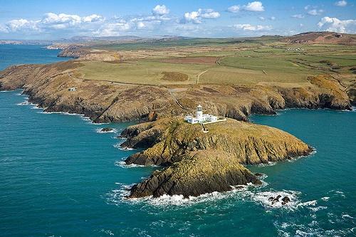 Strumble Head & Lighthouse Photo © Crown copyright (2012) Visit Wales