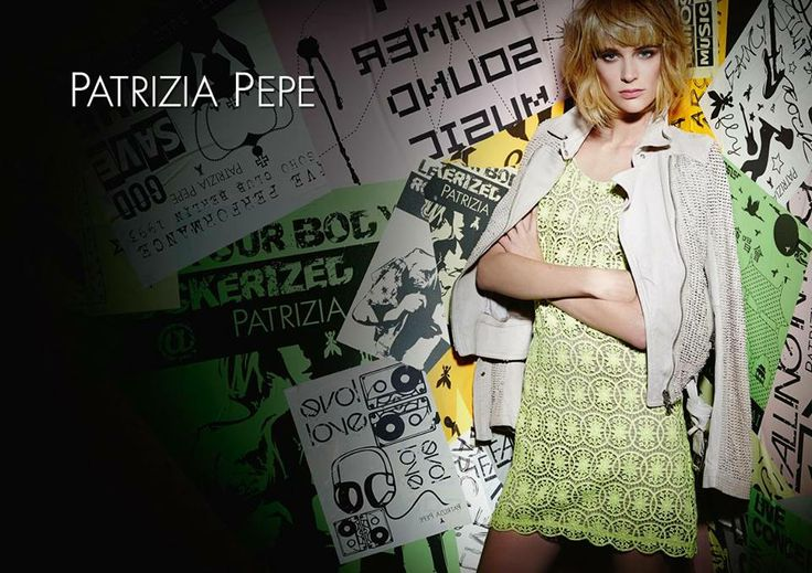 Spring Summer 2014 ADV Campaign revealed!  Follow on http://www.patriziapepe.com/  #patriziapepeoffbeat a story beating at the rythm of #rock #music chapter1 #patriziapepeundergrounge