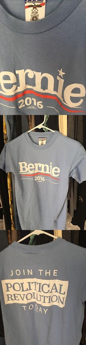 Bernie Sanders: Bernie Sanders 2016 Official Presidential Campaign Shirt T-Shirt Unisex Small -> BUY IT NOW ONLY: $11.95 on eBay!