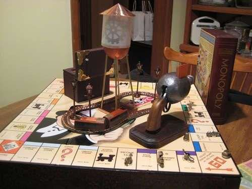 The Popular Board Game Goes Victorian in this DIY Set #DIY trendhunter.com
