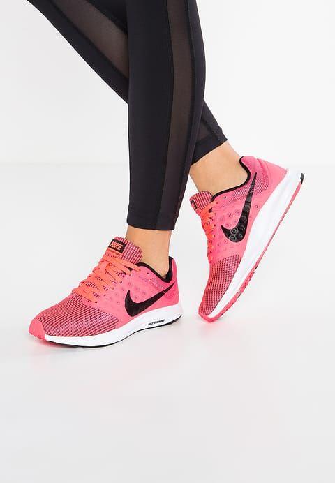 Nike Performance DOWNSHIFTER 7 - Hardloopschoenen neutraal - neon pink - Zalando.nl