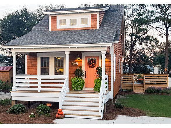 Coastal Home Plans - Wise Bungalow