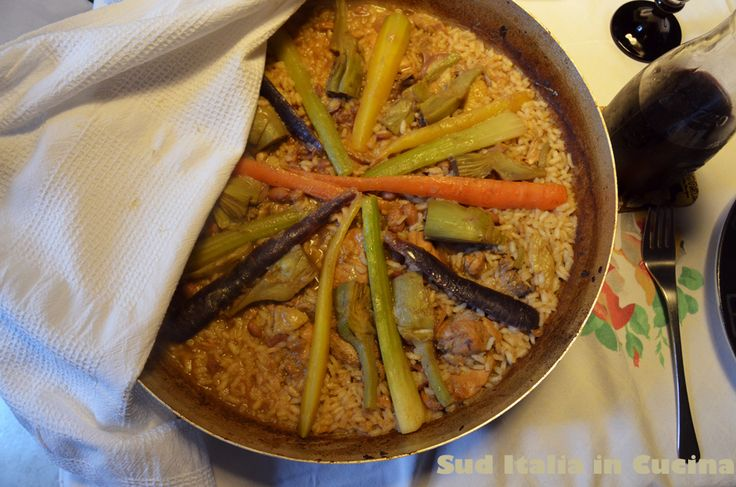 Paella Valençiana Campagnola - http://blog.giallozafferano.it/suditaliaincucina/paella-valenciana-campagnola/