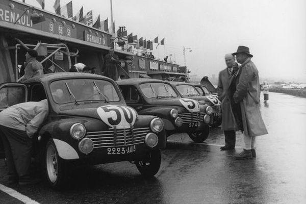 Renault 4CV aux 24 Heures du Mans 1951