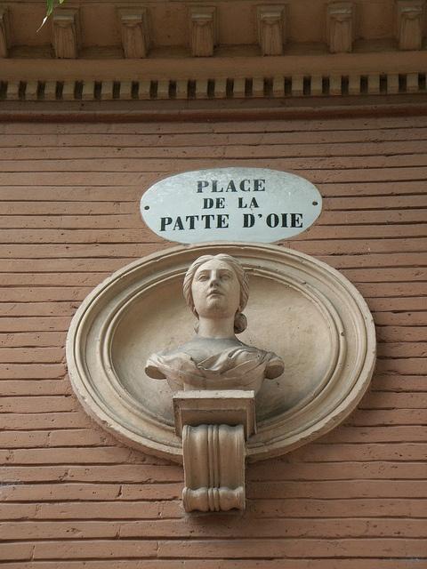 Patte d'oie, TOULOUSE