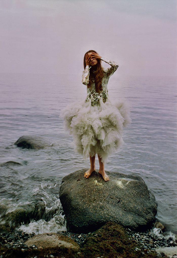 igen bra känsla för mermaid, med inspiration för att ha på sig något lite annorlunda men ändå passa in i naturen