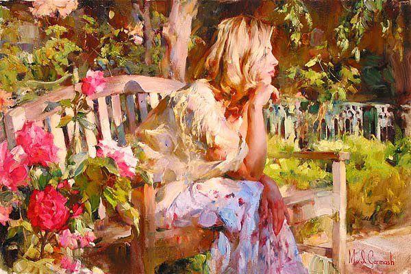 Michael and Inessa Garmash   Ukraina   Romantic Impressionists painters