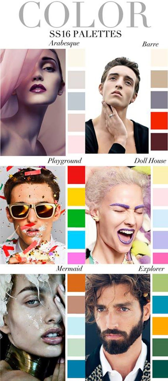 TRENDS // TREND COUNCIL - SS 2016 COLORS