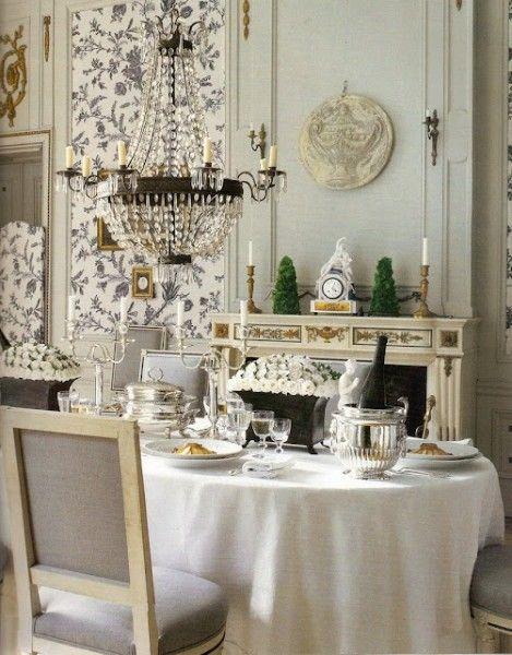 Best Classical Addiction Beaux Artes Blog Dining Room Pale Blue 400 x 300