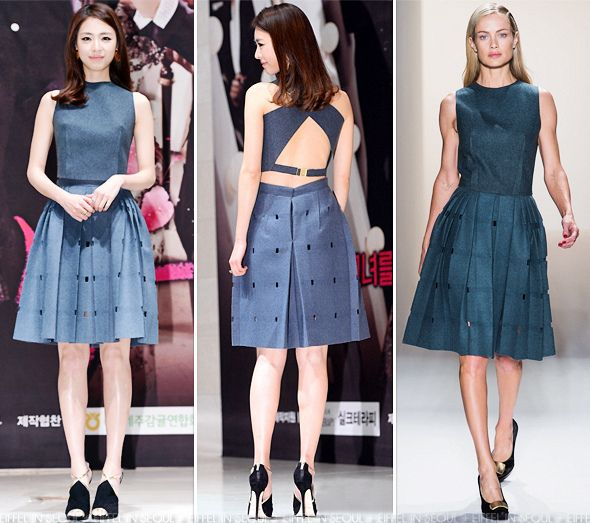 Eiffel In Seoul: Lee Yeon Hee Wears Calvin Klein To 'Miss Korea' Press Conference